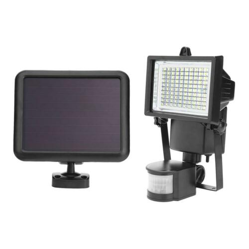 Solarleuchte LED Solarlampe mit Bewegungsmelder Außen Fluter Sensor Strahler DE