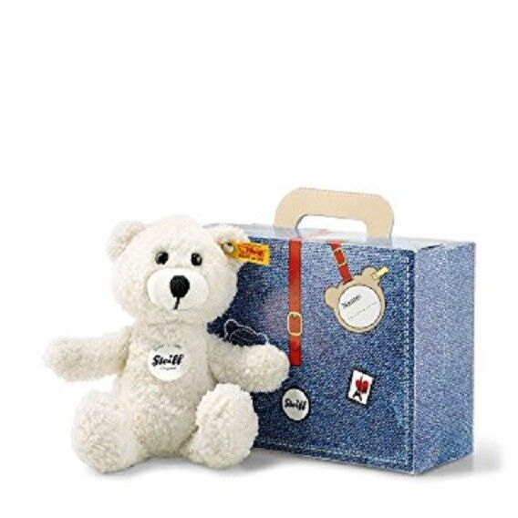 New Luxury Cuddly Steiff Sunny TEDDY BEAR IN SUITCASE Ideal Gift 113352