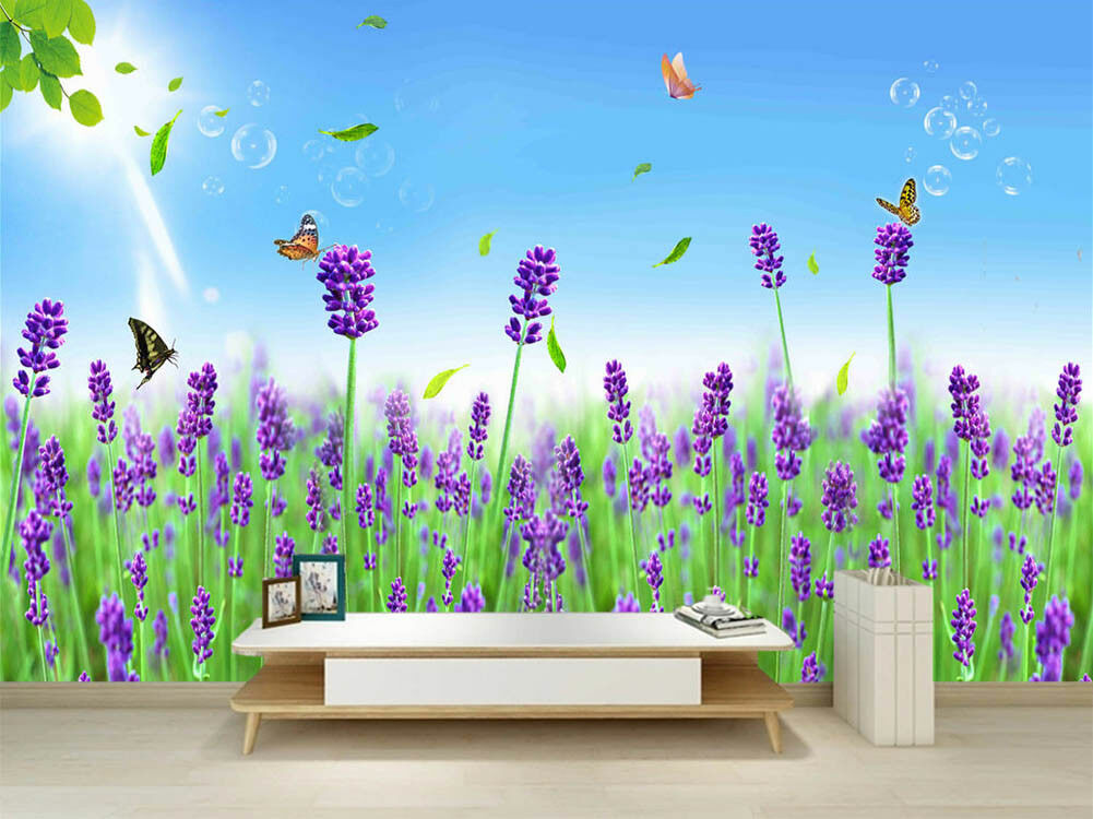 Ripe Royal Field 3D Full Wall Mural Photo Wallpaper Printing Home Kids Decor