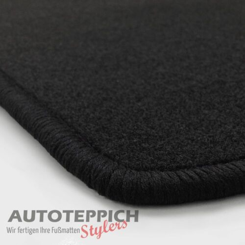 NF Velours schwarz Fußmatten paßt für VOLVO C70 Typ N Bj.98-06