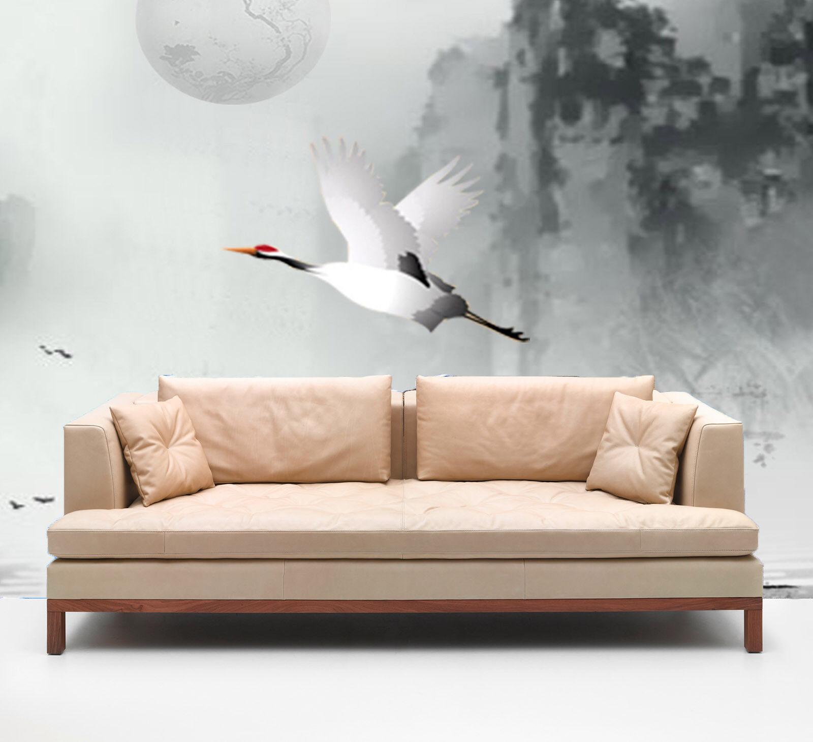 3D Fliegen Reiher Stiefel Sonne 7 Tapete Wandgemälde Tapete Tapeten Bild Familie DE