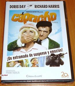 CAPRICHO-DVD-R2-Doris-Day-amp-Richard-Harris-Precintada