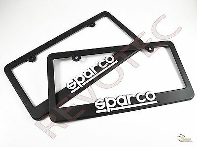 Sparco US Spec Official Plastic License Plate Frame