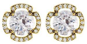 1-21-carat-total-Round-cut-Diamond-Stud-Earrings-14K-Yellow-Gold-G-SI1-clarity