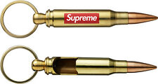 Supreme 2013 Box Logo Bullet Bottle Opener Metal Keychain Key Ring
