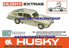Corgi Husky 1201 James Bond Aston Martin A3 Size Poster Leaflet Sign Juniors