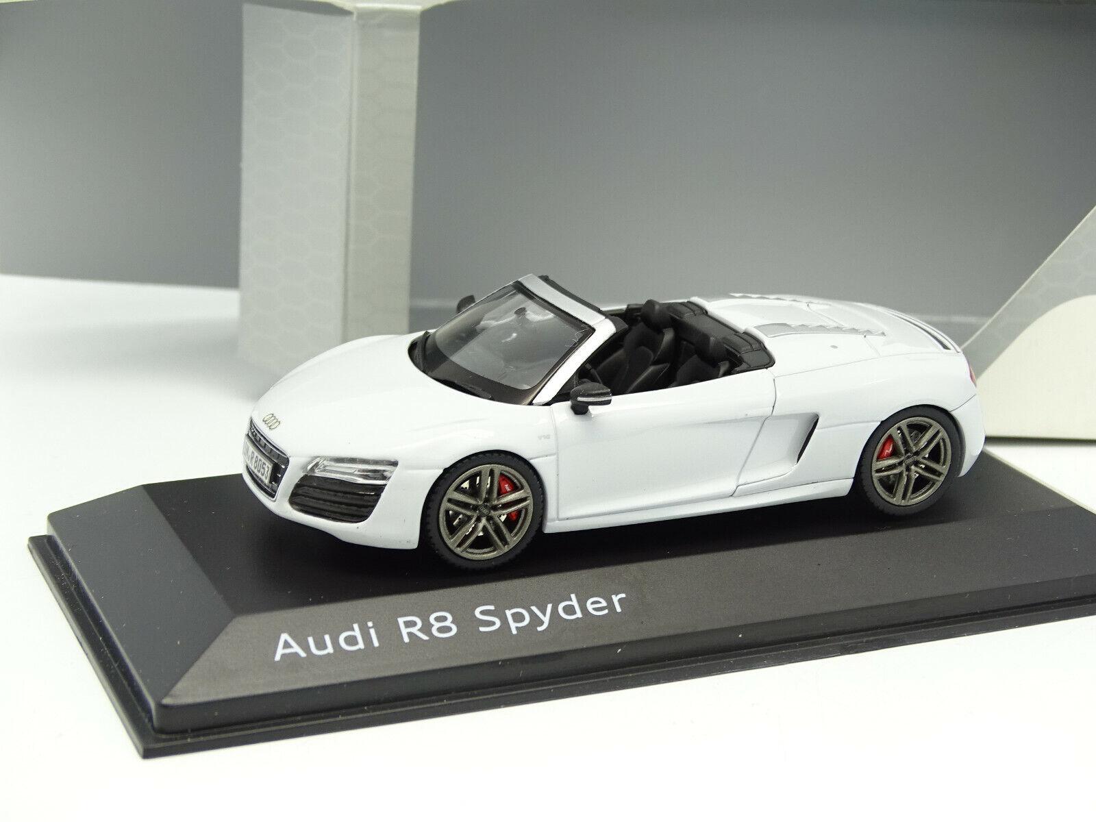 Schuco 1 43 Audi R8 Spyder White