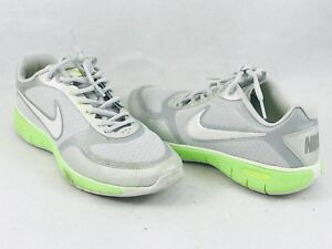 new style db7c6 3d30f Details about Nike Free XT Flywire Everyday Fit 429844 Silver Green Running  Shoe Womens Size 8