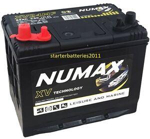 Numax-XV24MF-12V-80AH-85AH-75AH-Leisure-Marine-Battery-Motorhome-Caravan-Boat