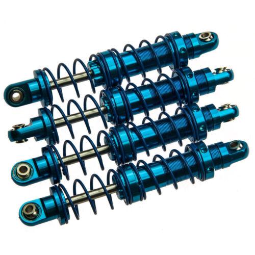 4Pcs 70mm Alloy Adjustable Piggyback Shock Absorber For 1//10 RC Rock Crawler Car