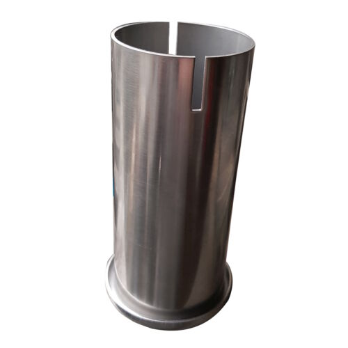 """Rolled Out Pipe Trim Tip Unit 60mm 2/""""3//8 High Grade T304 Stainless Steel EEP"""