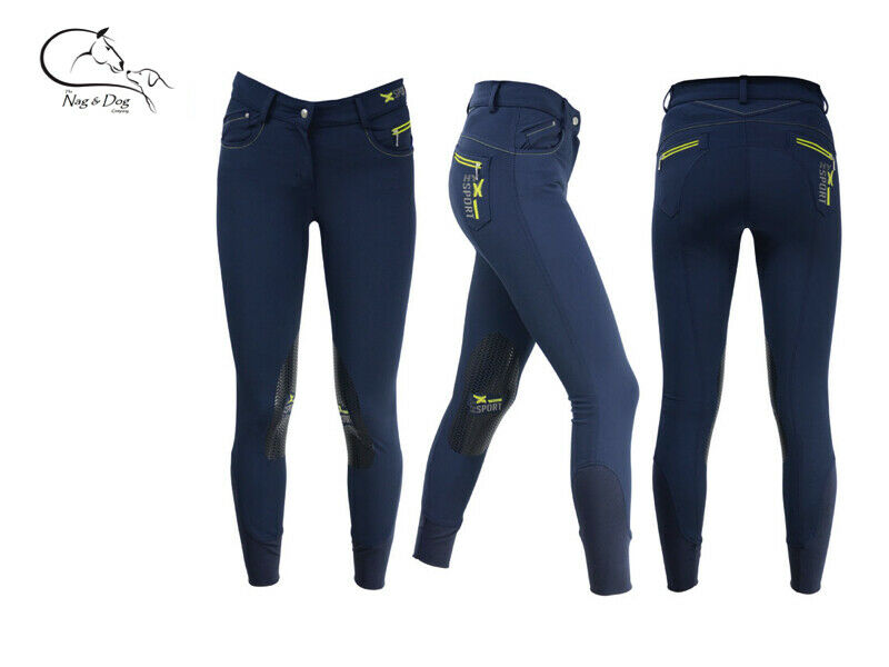 HyFashion  X Sport  Stretch Silicone Grip Knee Breeches Ladies FREE Delivery