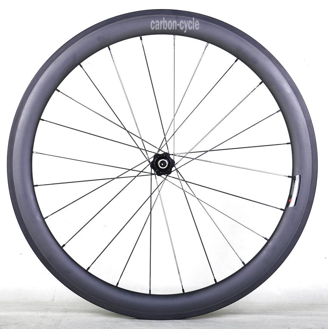 DT240s 50mm Sapim Carbon Clincher Rear Wheel 700C 25mm 3k Matt Road Bike Rim