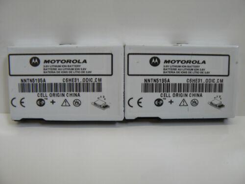 Motorola i830 i833 i836 Nntn 5195 A Baterías Extendida Oem Lote de 3