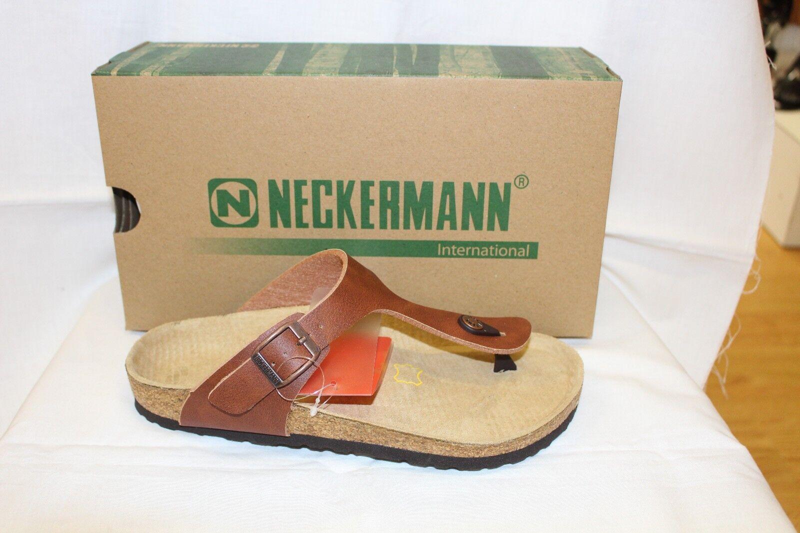 LADIES SHOES/FOOTWEAR - Neckermann Thong N2602 tan