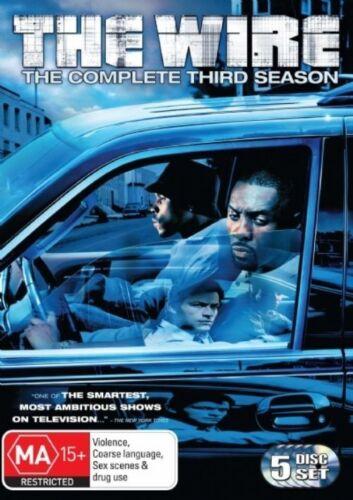 1 of 1 - The Wire Season 3 DVD. NEW (Region 4, Australia)