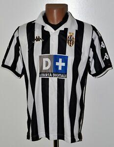 JUVENTUS-ITALY-1999-2000-HOME-FOOTBALL-SHIRT-JERSEY-KAPPA-SIZE-M-ADULT