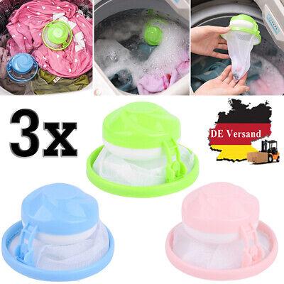 2 X Waschmaschine Wäsche Filter Tasche Home Schwimmende Fussel Haar Fänger