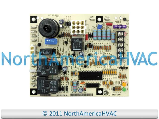 Rheem Ruud Furnace Control Circuit Board 62-25337-01