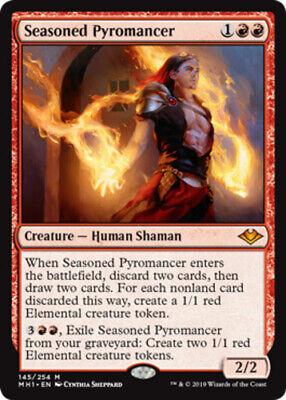 English Modern Horizons MTG Magic 4x Fists of Flame NM-Mint