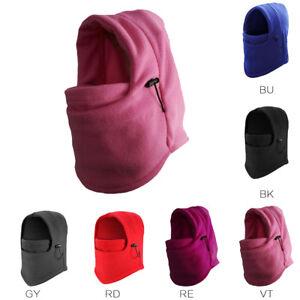 Face-Mask-Balaclava-Kid-Ski-Polar-fleece-Motorcycle-Winter-Warm-Outdoor-Bike-Cap