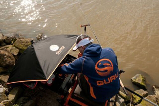Guru Bait Umbrella Brolly for Fishing Gb1 for sale online