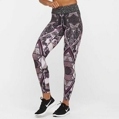 Nike Power Epic Lux 2.0 Running Tights 874745-658 Size Xs Sunset Tint Easy To Lubricate