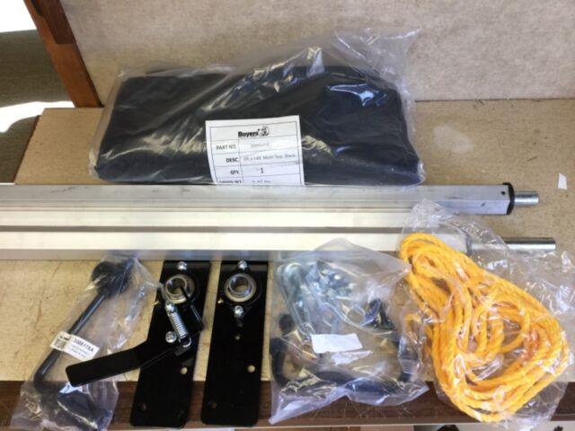 Mesh Tarp//Hardware Kit,7 x 15 Ft BUYERS PRODUCTS DTR7015
