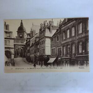 Besancon-La-Maison-Hugo-et-la-Porte-Noir-LL-Carte-Postale-Unposted-Postcard
