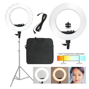 Ring-Light-Continuous-Photo-Lighting-18-034-LED-50W-Dimmable-Photography