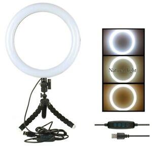 Lumière LED Bague Réglable, Bague de De 20cm 2700K/5500K Neuf