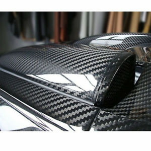 1x-Sticker-de-carro-Fibra-de-carbono-6D-Pegatinas-de-equipaje-Patineta-Vinilo-ES