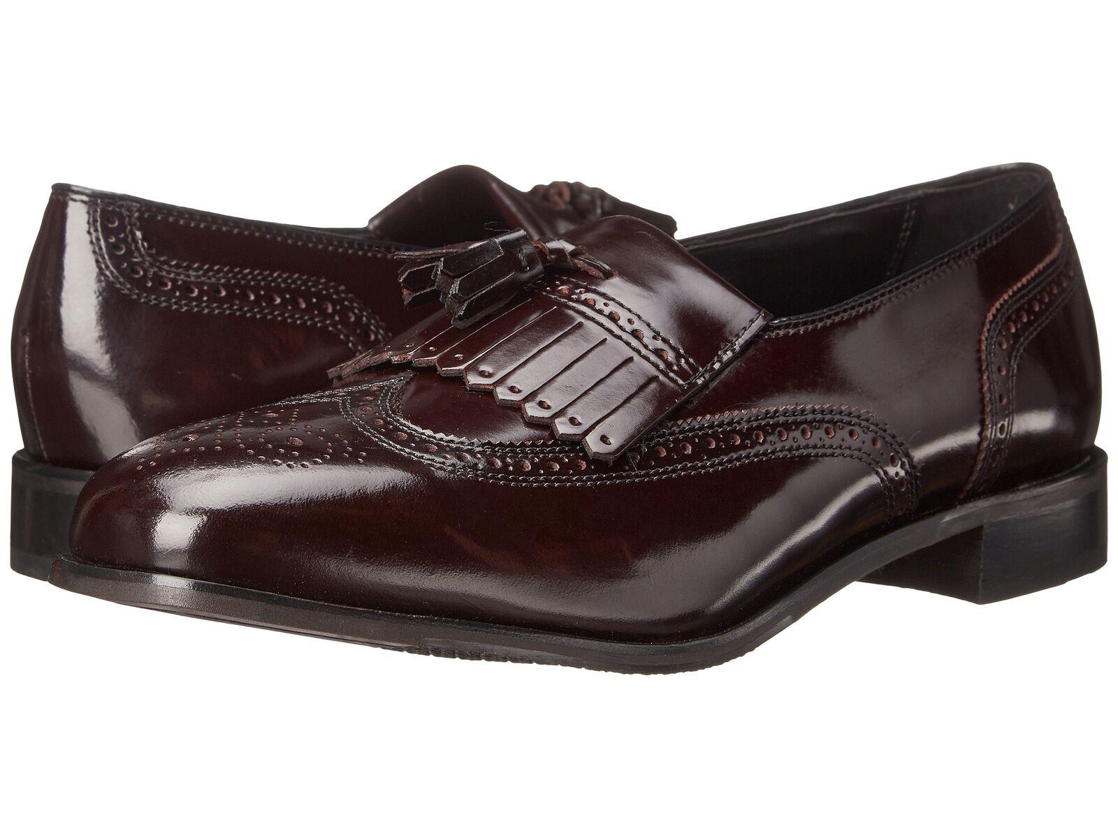 Florsheim Men's Lexington leather loafer Burgundy shoes 17073-05