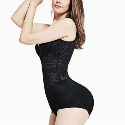 Frauen ärmellose Weste Bodysuit Shapewear mit Hakenverschluss Schritt für die