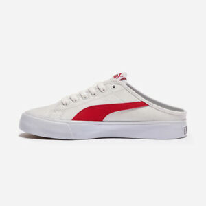 PUMA Bari Mule Slip On - White Red / PKI37131805 / Mules Sneakers ...
