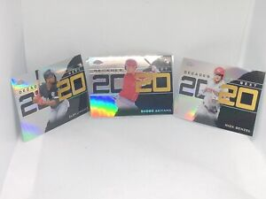 2020 Topps Chrome Update Lot - Decade's Next Insert - Refractor - Akiyama