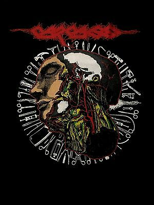 CARCASS cd lgo ANATOMICAL TOUR 2016 Official SHIRT LRG New in sickness in hell