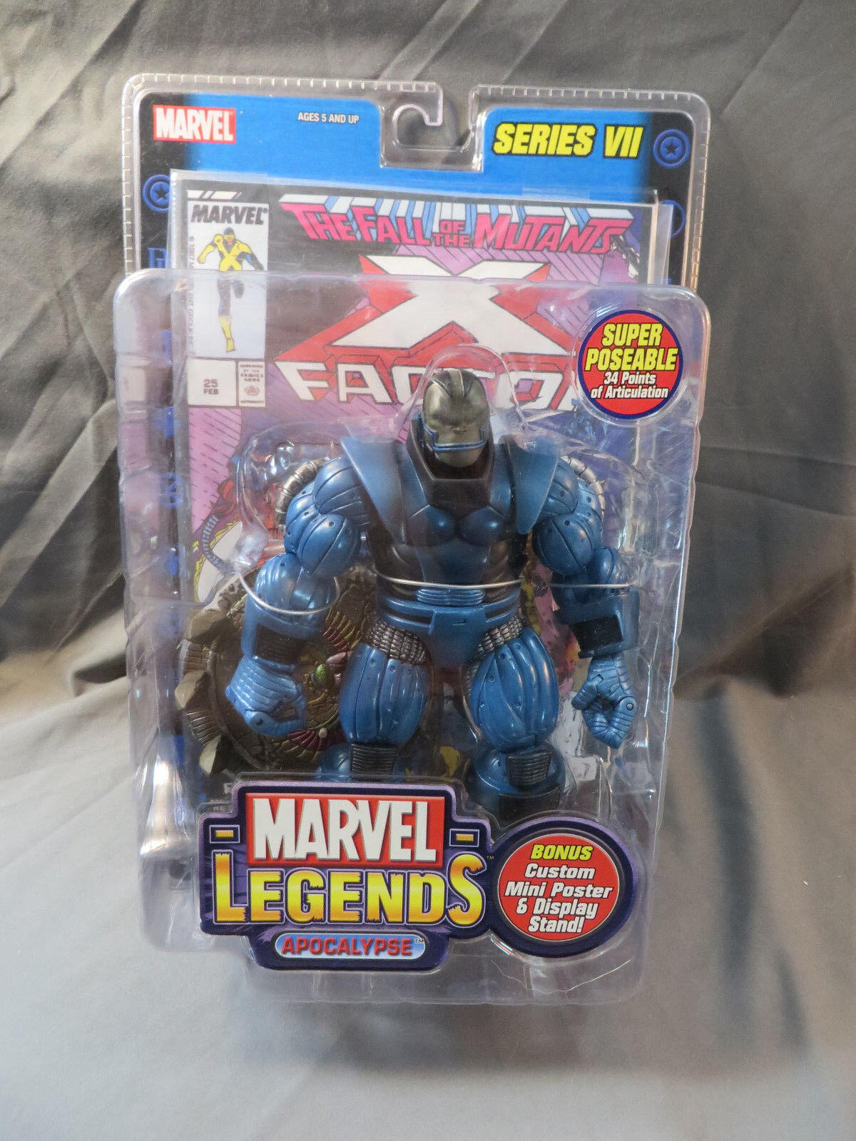 Toybiz Marvel Legends Series VII Apocalipsis Moc Vengadores 2004
