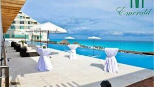Departamento en venta  frente mar zona hotelera cancun Emerald