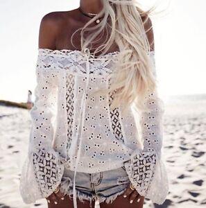 Maglia-Donna-Primavera-Pizzo-Spalle-Scoperte-Woman-Lace-T-shirt-561052-P