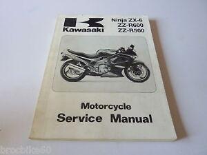 manuel d atelier kawasaki zzr 500 600 zx 6 1990 u003e service manual zz rh ebay co uk Taylor Dunn Service Manual Kawasaki ATV