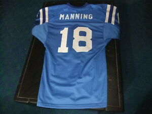 Peyton Manning jersey Indianapolis Colts youth L/XL fitted ...