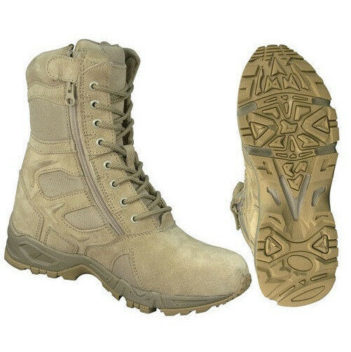 Desert Tan Military Forced Entry Deployment Army Boot
