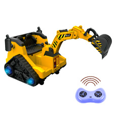 Battery Operated Ride On Digger with 360 Degree Spin and Working Bucket