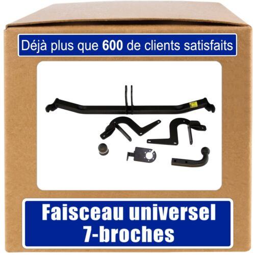 Peugeot 308 Break//SW de 14 Attelage fixe+faisceau 7-broches uni.