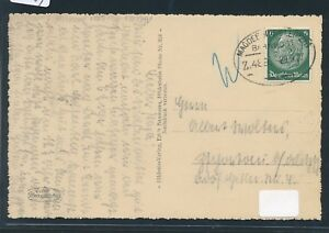 09544) Bahnpost Ovalstempel Magdeburg-leipzig Z.489, Carte 1937-afficher Le Titre D'origine