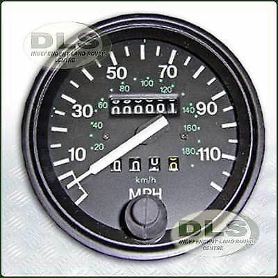 83-98 OEM Land Rover Defender PRC7373 – OEM Speedometer Speedo Head in MPH