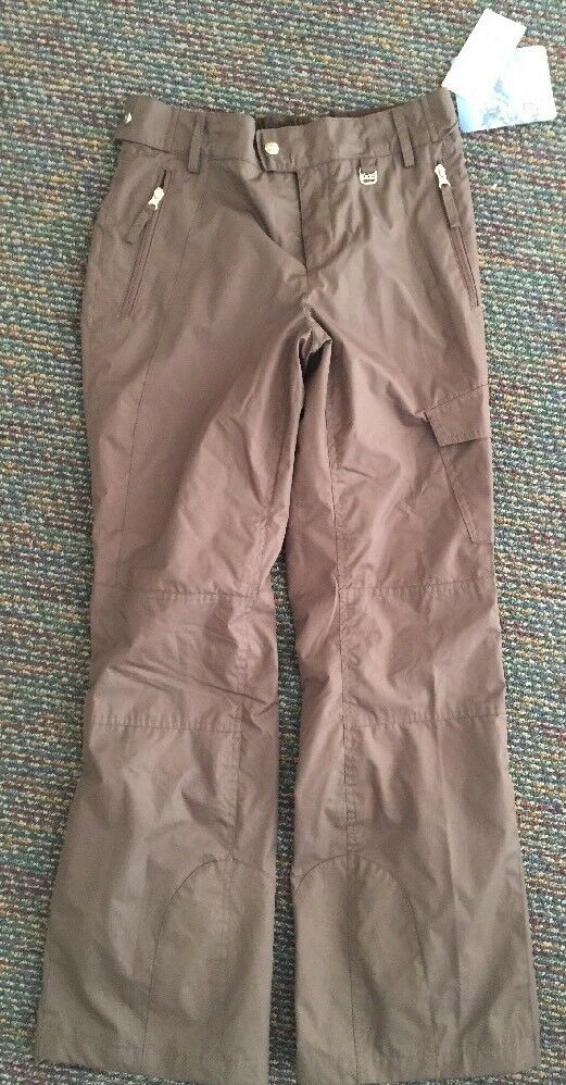 Free Country Ski Pants damen Hike Softshell Water Resistant braun S  110