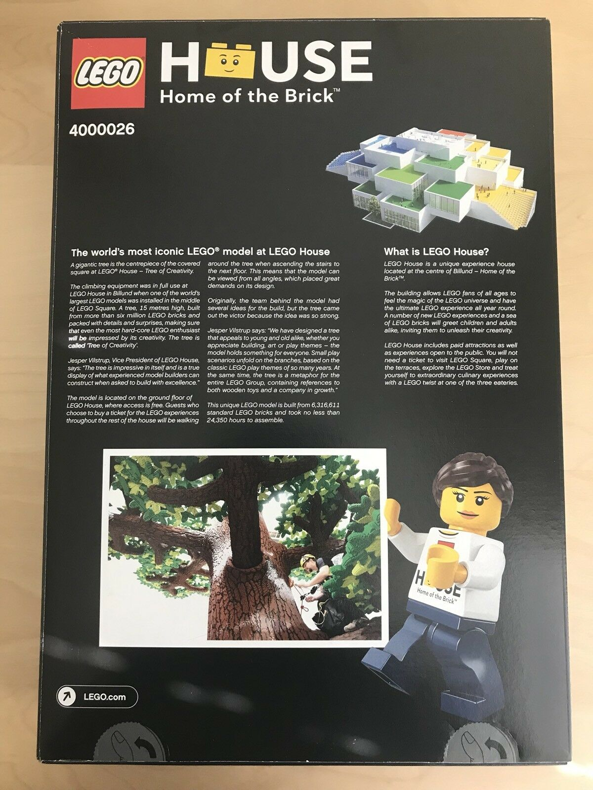 New LEGO Creativity House Tree of Creativity LEGO 4000026 Exclusive Super rare  10000 sets only 4eec37