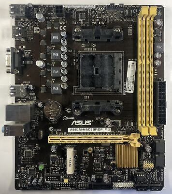 For ASUS A55 A55BM-A//M32BF//DP/_MB 90PA0600-M1XDBN0 Desktop Motherboard